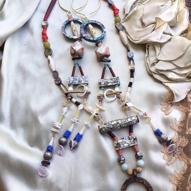 shell inlay jewelery