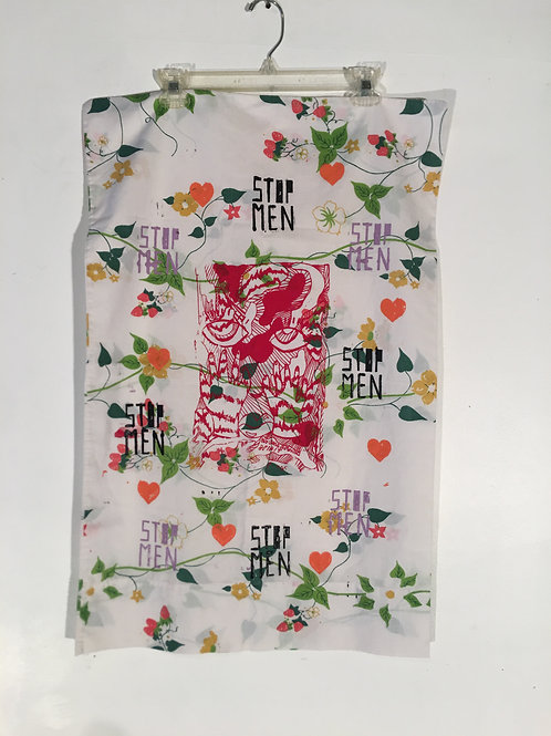 Sheer Floral Pillow Case