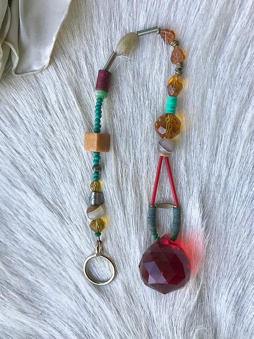 rainbow maker// red crystal