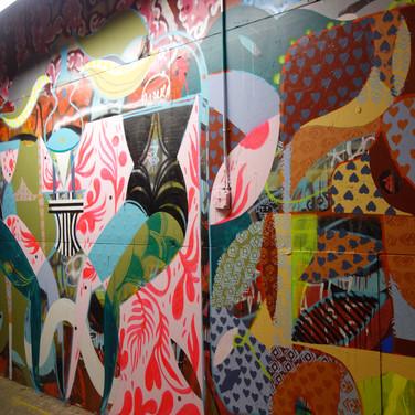 MCXT hut mural