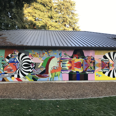 Civic Park Walnut Creek Community Center Mural