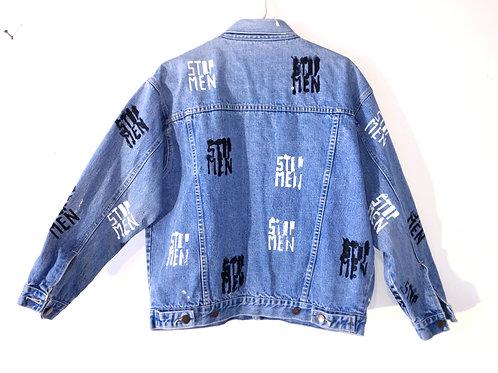 Classic STOP MEN Jean Jacket Size L
