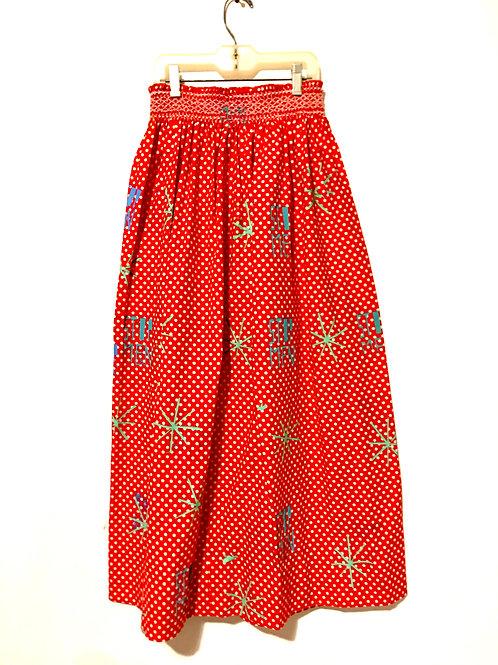 Red Polka Dot Skirt XS-S