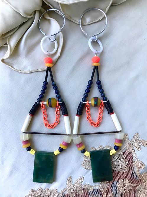 Psychic luv earrings