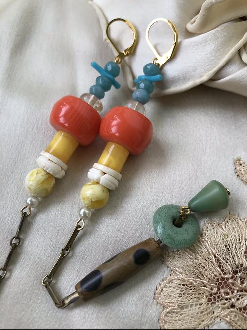Sunshine chime earrings