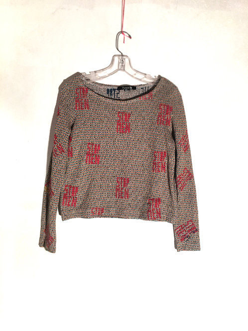 Forever 21 sweater size medium shoulder is 15 1/2 inch Length 19 1/2 inch