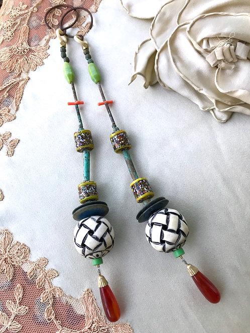 Mega chime gauged earrings