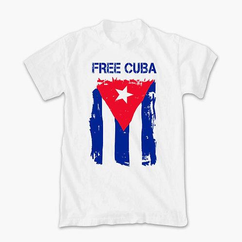 """Free Cuba"" T-Shirt"