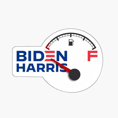 """Biden Harris """"Empty"""" Sticker"""
