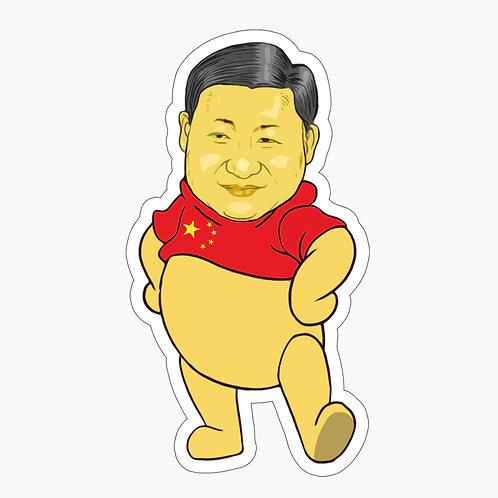 Xi Jin Pooh Sticker