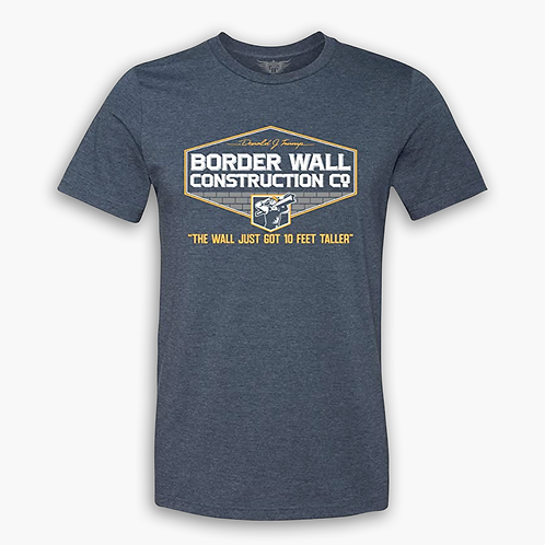Border Wall Construction Co. Athletic T-Shirt