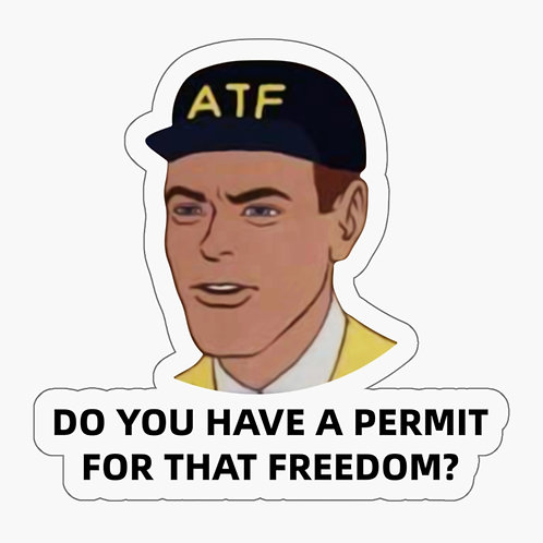 ATF Sticker