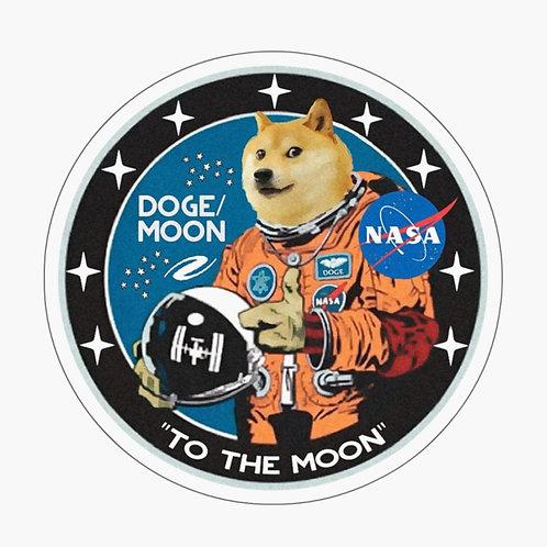 Doge Coin Sticker