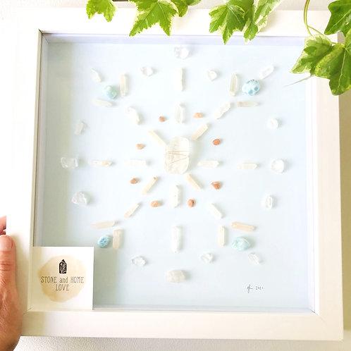 Family Union Medium Frame Crystal Grid
