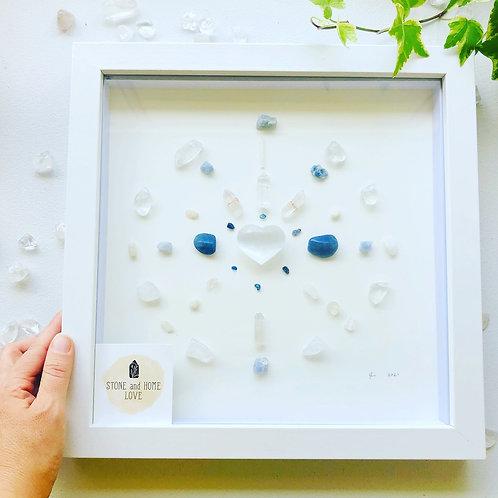 'Calming' Medium Crystal grid