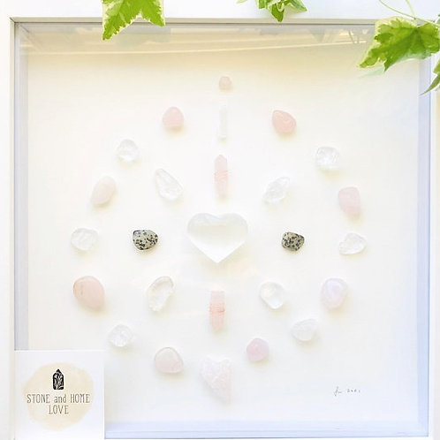 Confidence and Self Love.  Crystal Grid