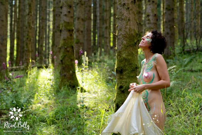 Poésie corporelle - Je vibre la nature