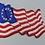 Thumbnail: Betsy Ross Embroidered Flag Patch