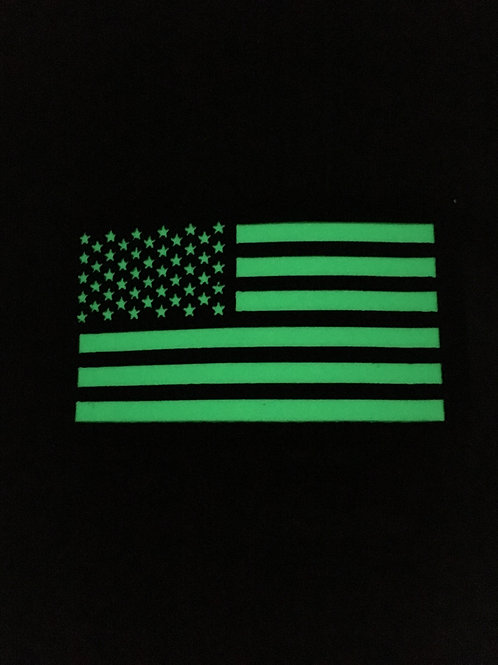 American Flag Glow Patch