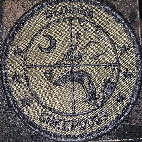 Georgia Sheepdogs Patch