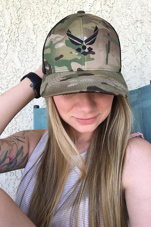 USAF Hat Trucker