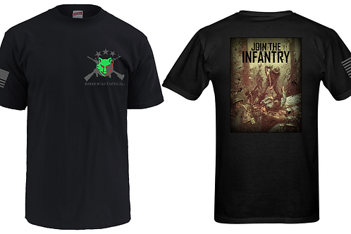 Green Wolf Tactical T-Shirt Join the Infantry®️