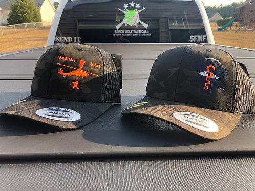 Black Multicam SAR Trucker Hat