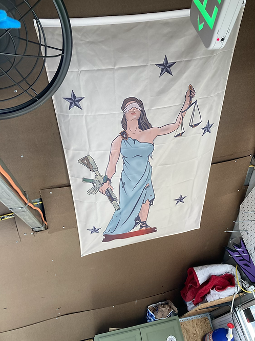 Lady Justice Flag