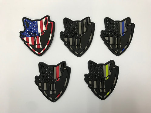 Green Wolf Tactical Thin Line Patch®️