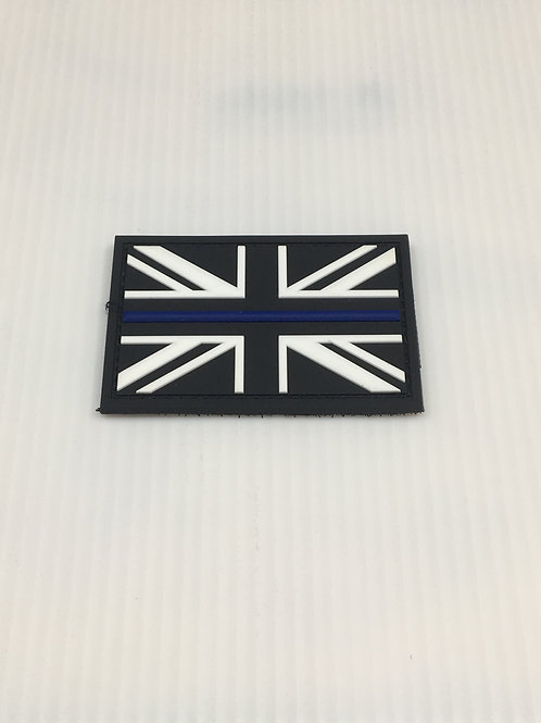 Union Jack Thin Line Patch