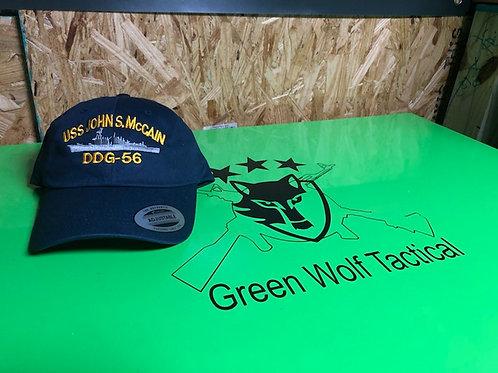 USS John McCain Hats