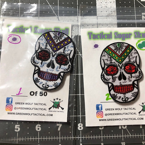 Tactical Sugar Skull Patch