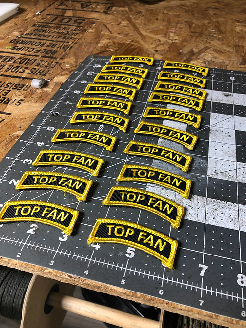 Top Fan Tab Patch