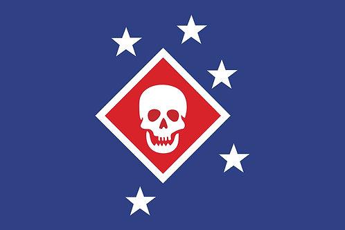 Raider Nylon Flag