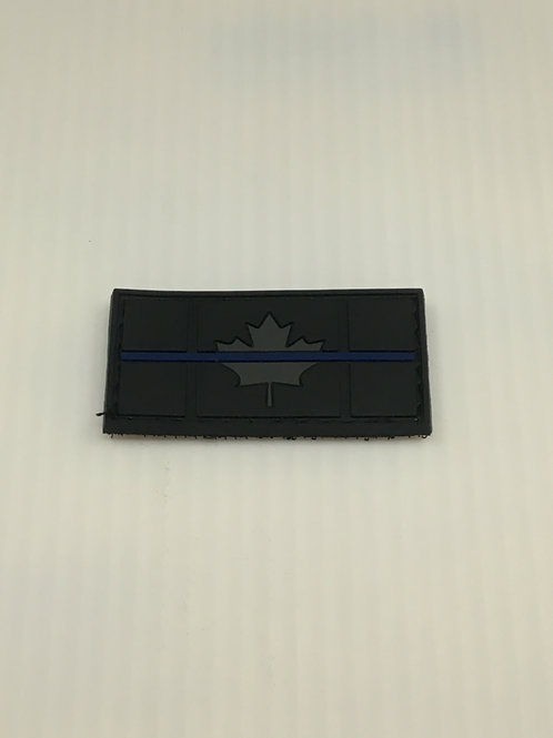 Canadian Thin Line Flag Patch