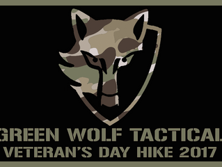 Join Green Wolf Tactical for a Veteran's Day Hike