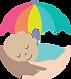 baby umbrella logo