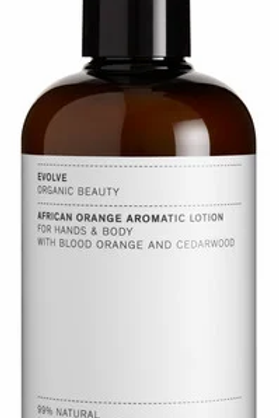 African Orange Aromatic Lotion