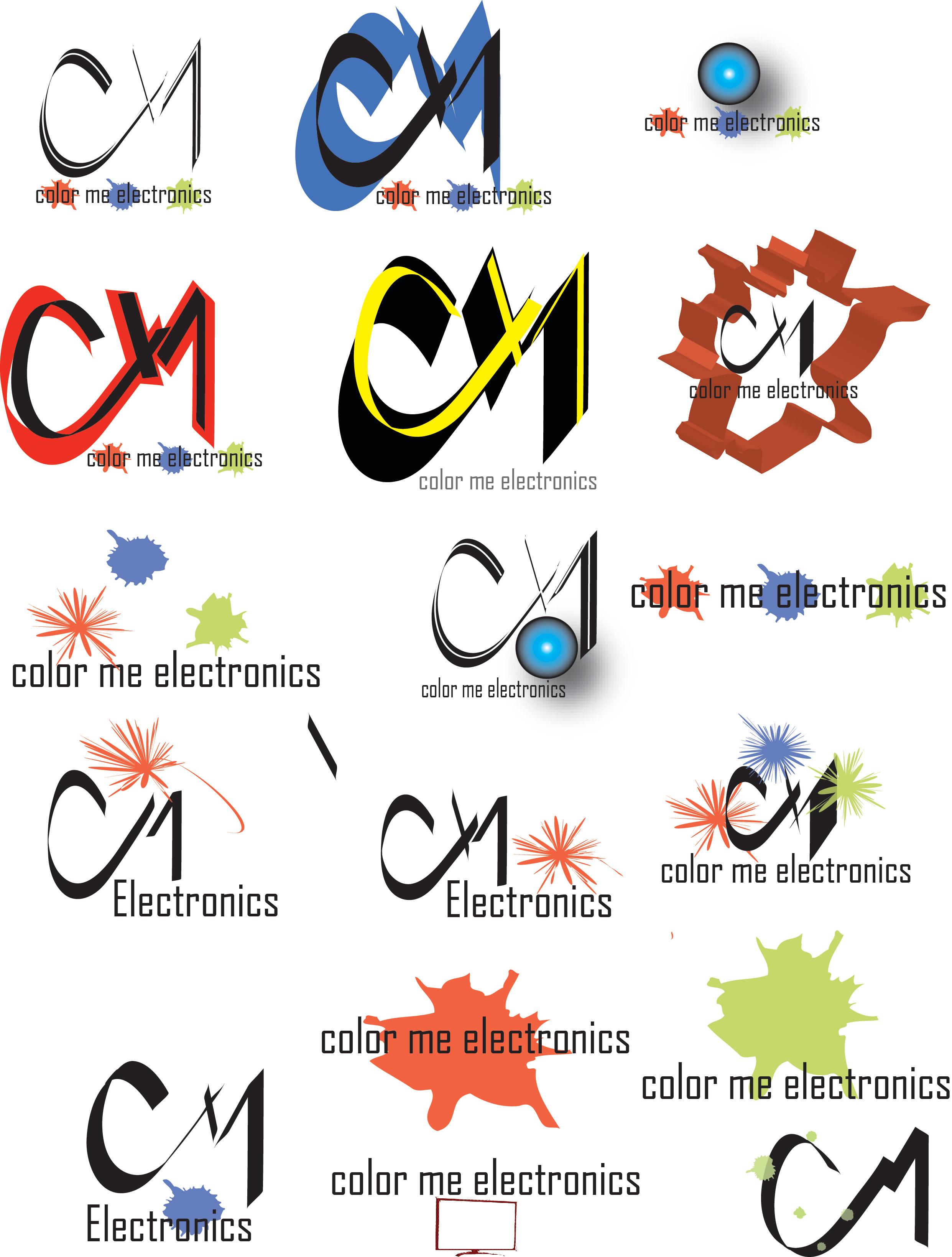 cm electronics logos