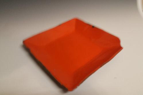 Orange Ceramic Plate
