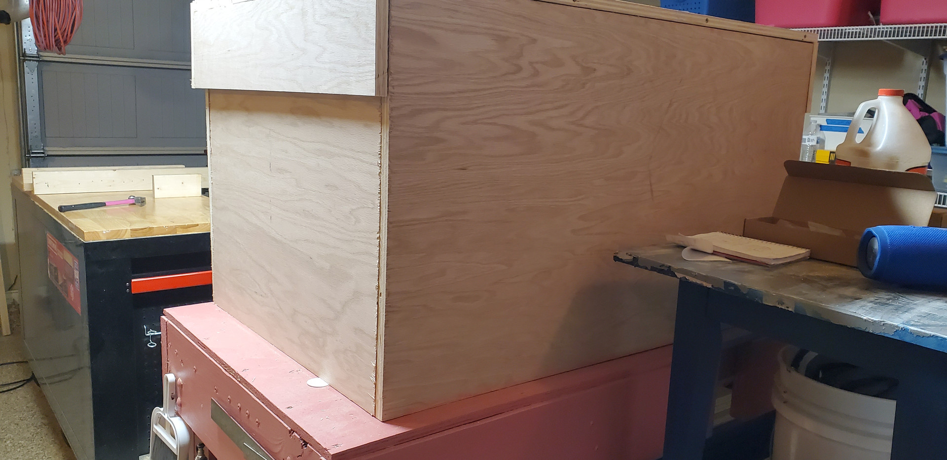 completed box build