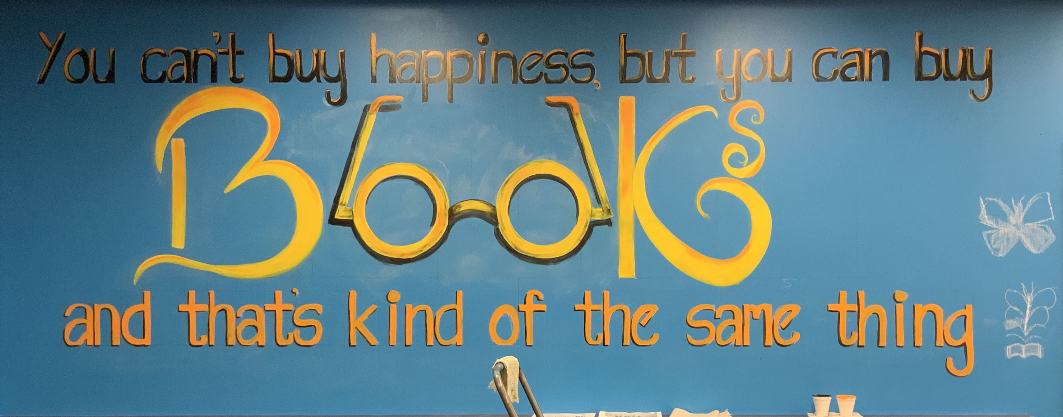 Buy Books Quote Wall
