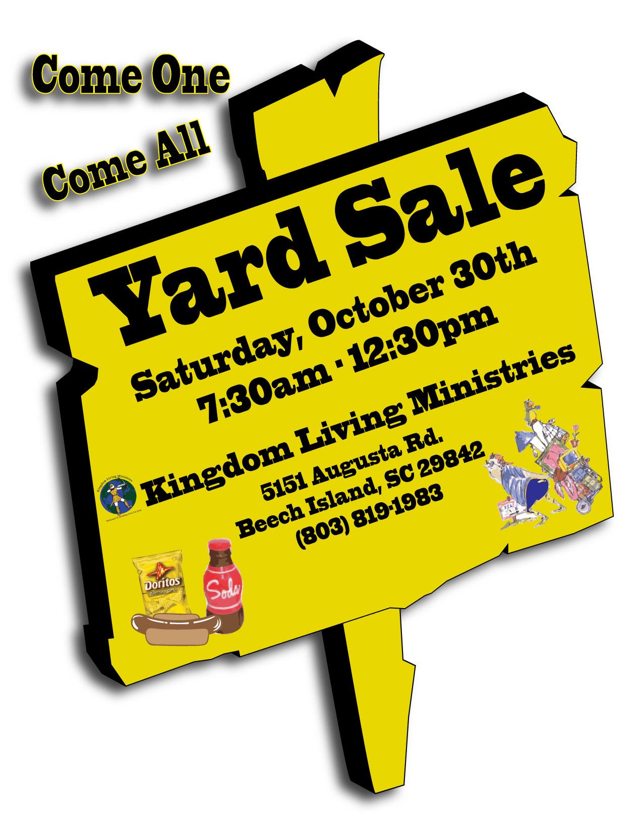 Yard Sale 2010