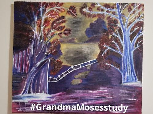 Grandma Moses Study