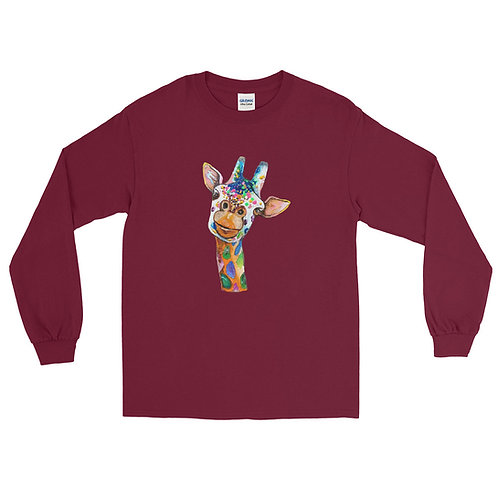 Crayo Giraffe Men's Long Sleeve Shirt