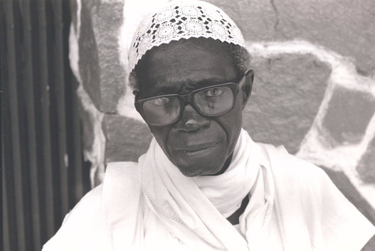 Alhagy Mansano Dabo, a Mandingo diamond and gold merchant from The Gambia, whom I met in Monrovia, Liberia's capital. Dabo was always broke, so I'm not sure how successful a diamond and gold merchant he was.