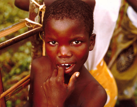 A young Kpaytuo resident, in one of many of my favorite photographs.