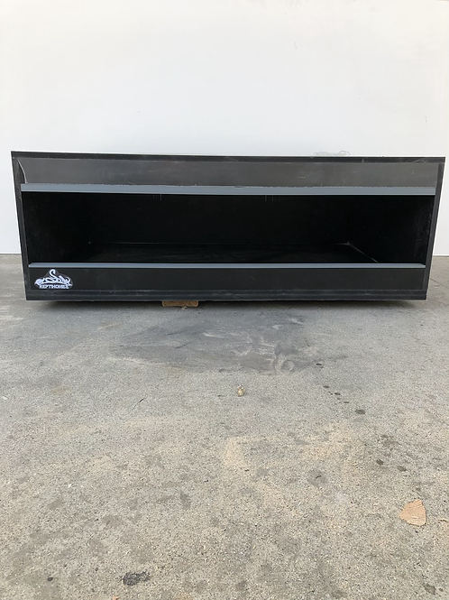 5x2x2 All Black PVC Enclosure
