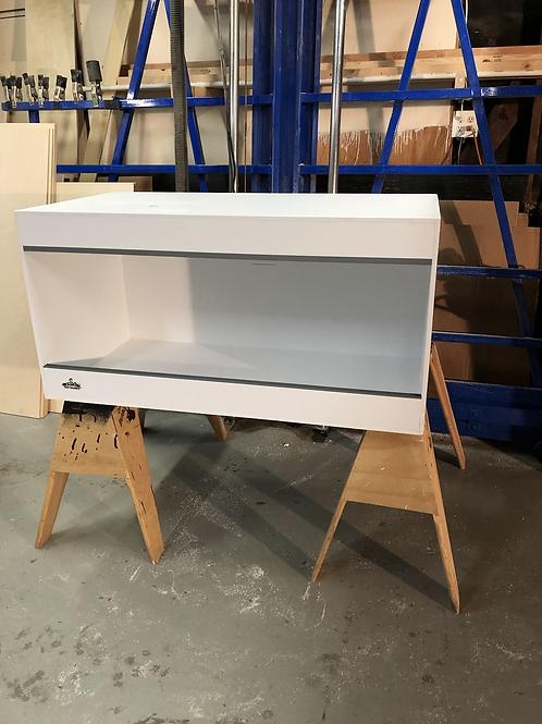 4x2x18 All White  PVC Enclosure