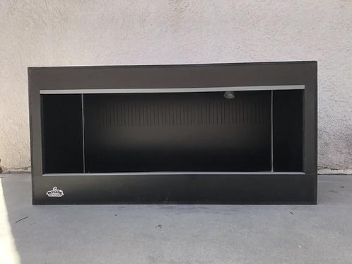 6x2x2 All Black PVC Enclosure